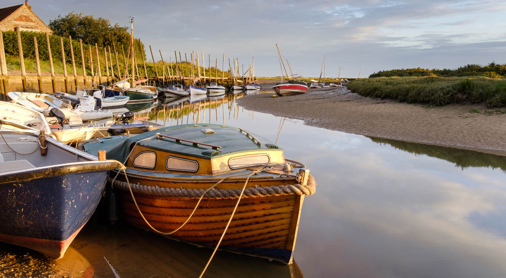 Blakeney at low tide